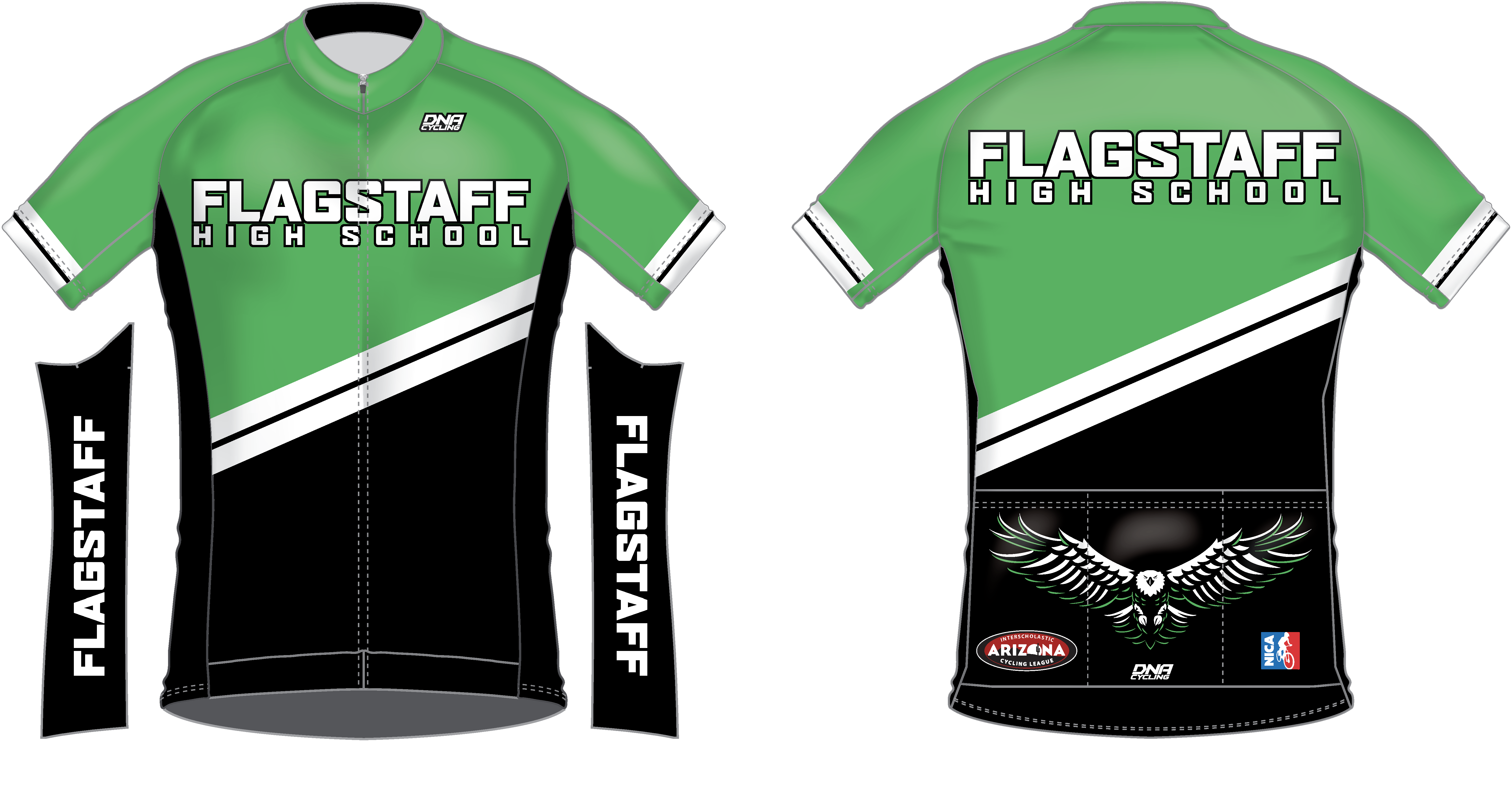 CORRECT: Flagstaff High School Jersey